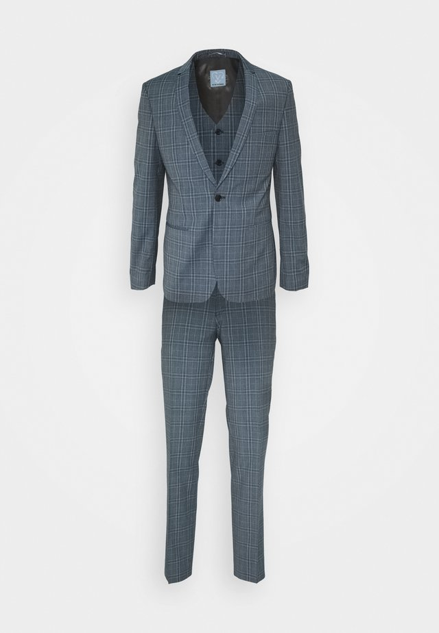 NOAH 3PCS SUIT - Kostuum - mid blue
