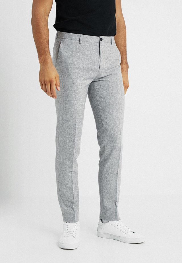 SUNDSVALL TROUSERS SLIM FIT - Stoffhose - light grey