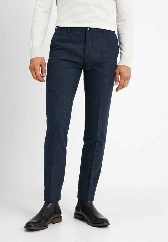SUNDSVALL TROUSERS SLIM FIT - Trousers - navy