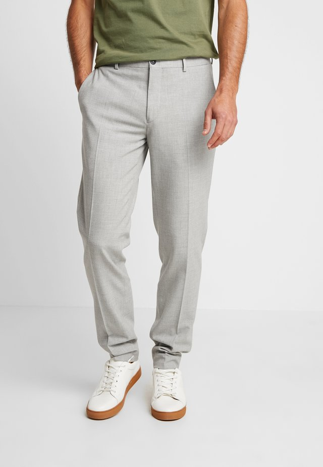 SUNNY - Suit trousers - light grey