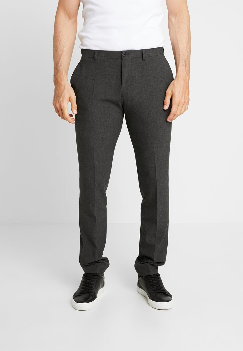 Viggo - SUNNY - Suit trousers - charcoal