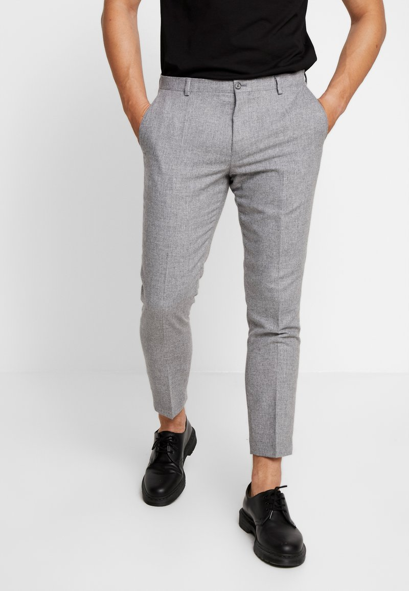 Viggo - ALTA TAPERED - Stoffhose - light grey