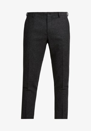 ALTA TAPERED - Tygbyxor - charcoal