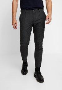 Viggo - ALTA TAPERED - Spodnie materiałowe - charcoal - 0