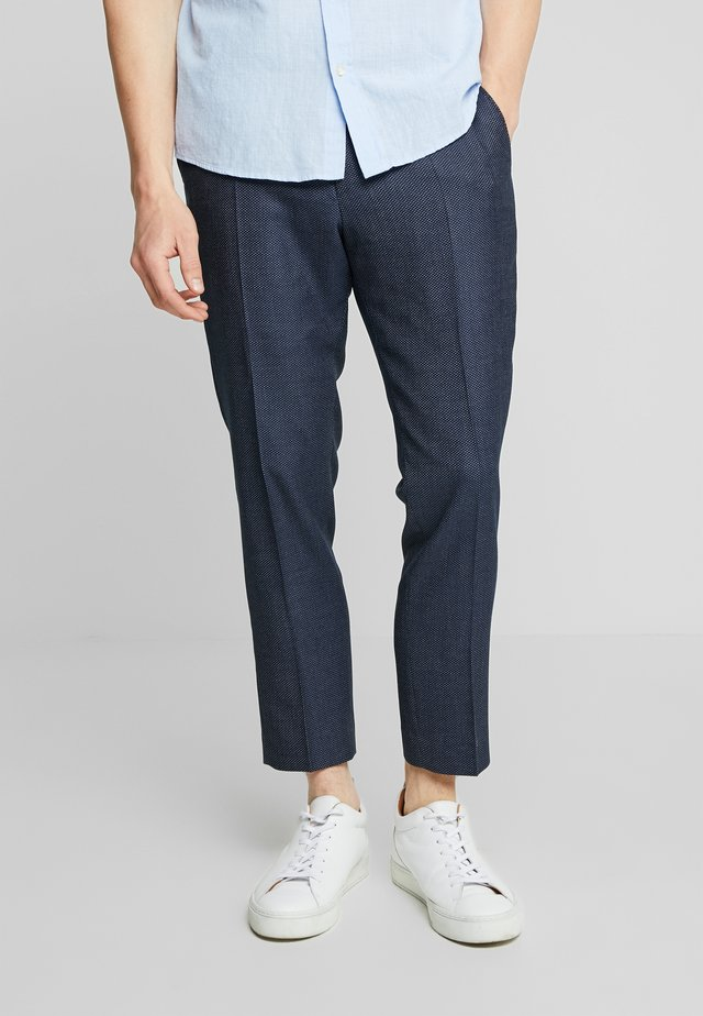 MOLDE TAPERED  - Trousers - navy