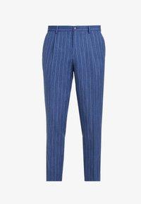 Viggo - ODDA CROPPED - Trousers - blue - 4