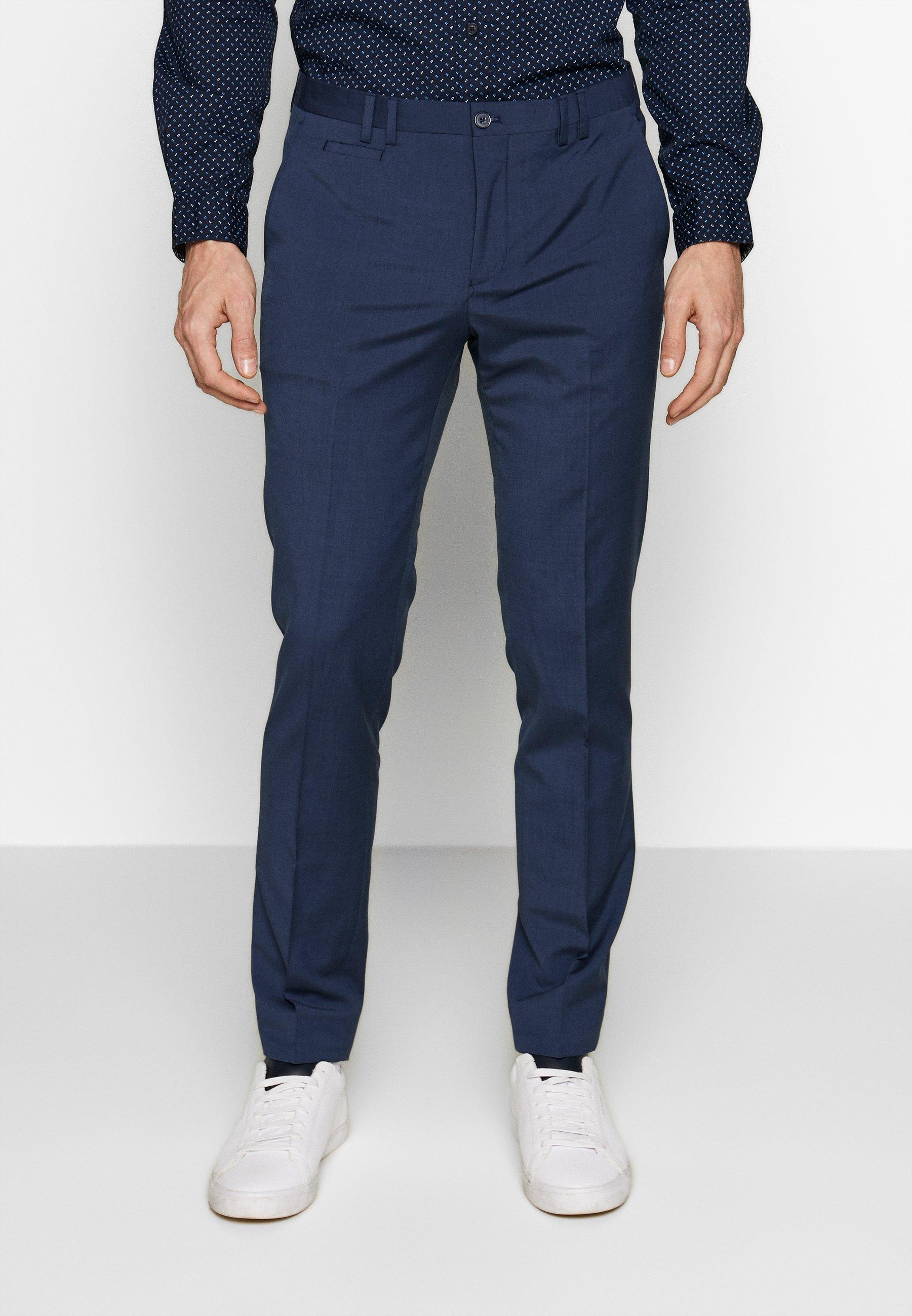 Viggo OSTFOLD TROUSER - Spodnie materiałowe - navy