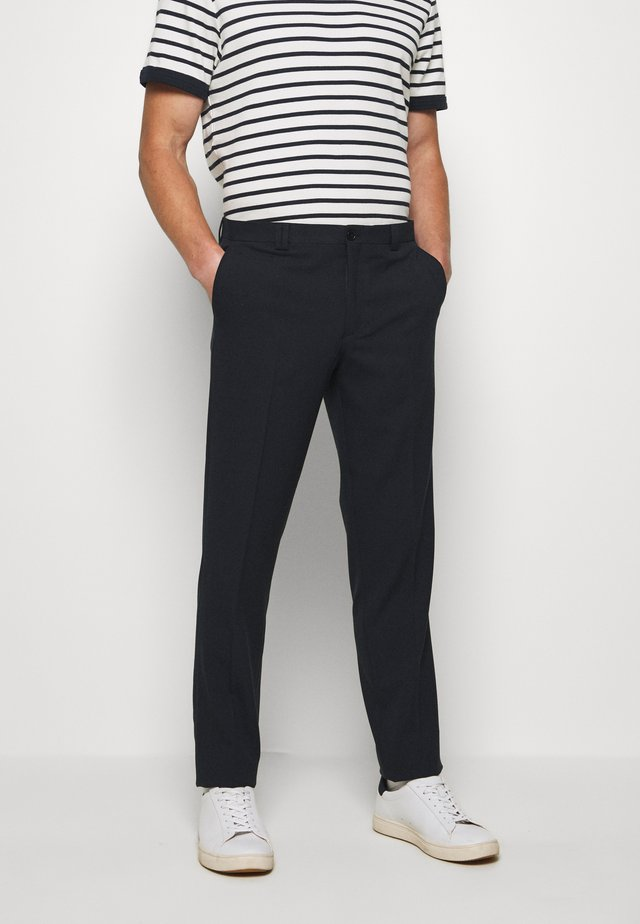 VESTFOLD TROUSER - Broek - dark navy