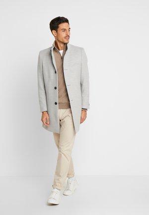 FUNNEL COAT - Mantel - grey