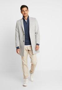 Viggo - OVERCOAT - Classic coat - light grey - 1