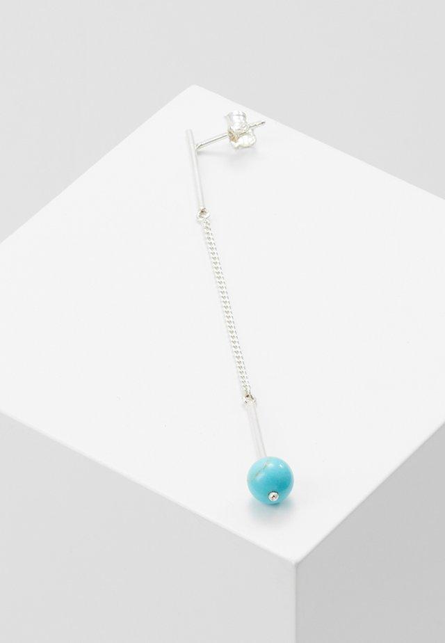 Örhänge - silver/turquoise