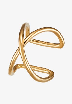 ANNA EARCLIP - Pendientes - gold-coloured