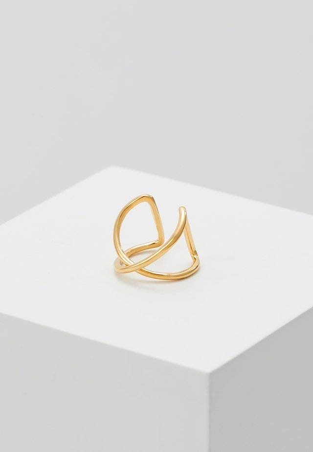 ANNA EARCLIP - Korvakorut - gold-coloured
