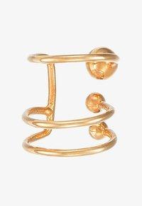 Vibe Harsløf - ANNA EARCLIP PIERCING - Earrings - gold-coloured - 3