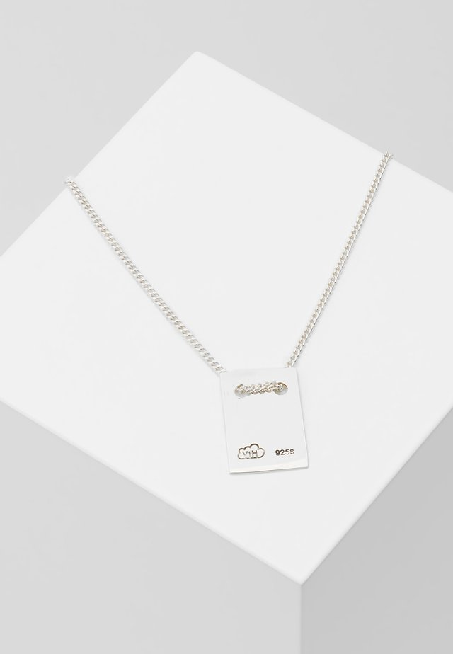 ANNA NECKLACE TAG - Halsband - silver