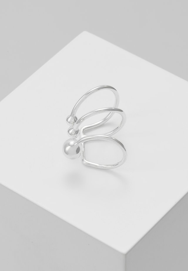 ANNA EARCLIP PIERCING  - Korvakorut - silver-coloured