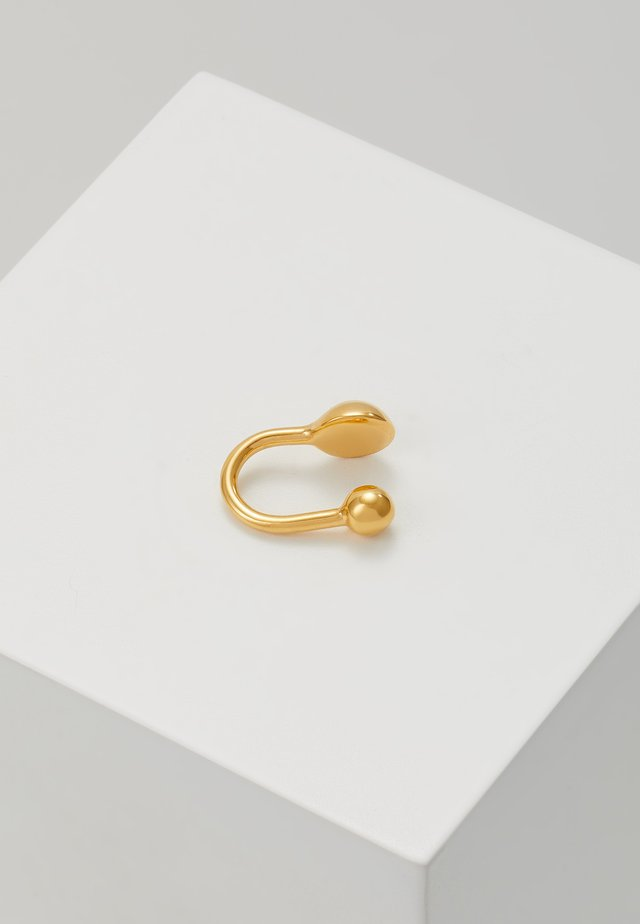 INNER EARCLIP - Earrings - gold-coloured