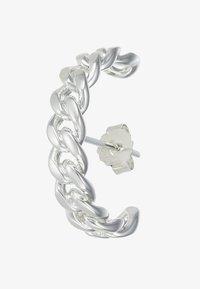 Vibe Harsløf - HOOP CHAIN LARGE - Oorbellen - silver-coloured - 3
