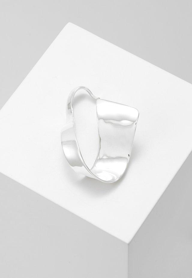 EARRING ORGANIC - Örhänge - silver-coloured