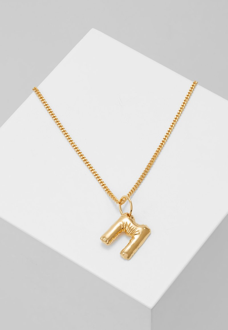 Vibe Harsløf - NECKLACE BALLOON LETTER PENDANT M - Halskette - gold-coloured