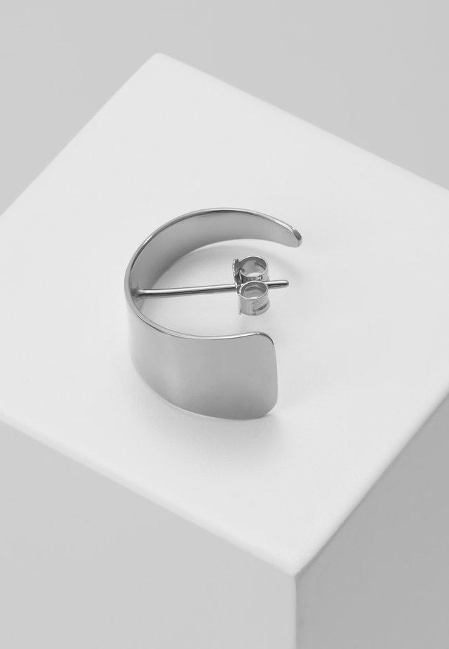 SMALL HOOP - Náušnice - silver