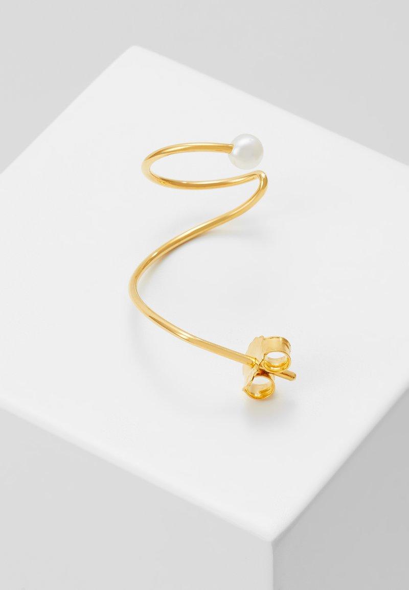 Vibe Harsløf - EARRING CURL RIGHT - Earrings - gold