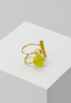 LANA EARCLIP LEMON - Náušnice - gold-coloured