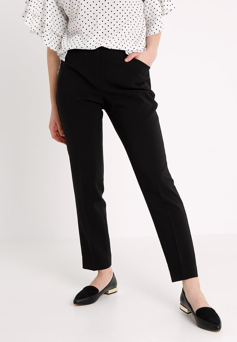 Vince Camuto Petite - MILANO PANT - Stoffhose - rich black