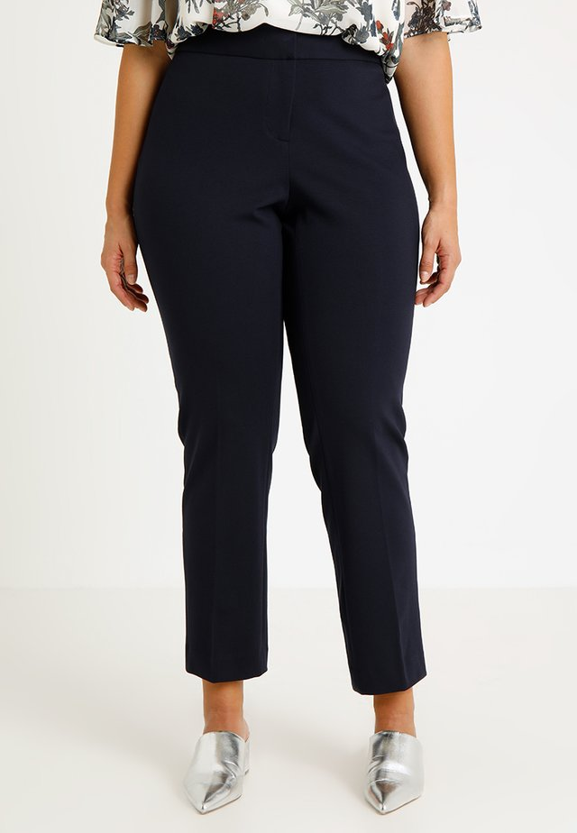 PONTE ANKLE PANT - Trousers - classic navy