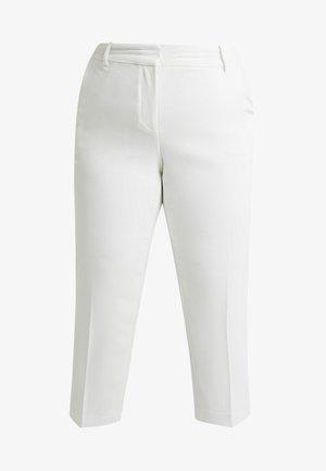 PARISIAN CROP PANT - Bukser - pearl ivory