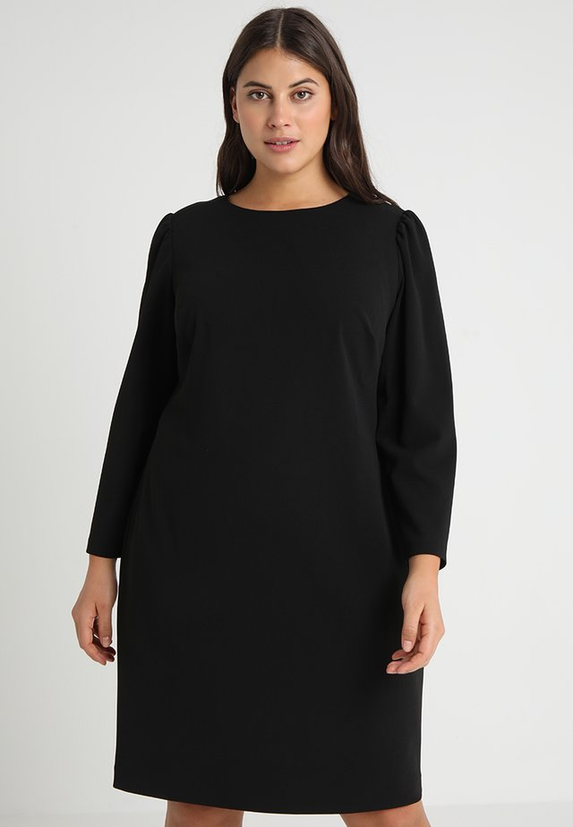 PUFF DRESS - Trikoomekko - rich black