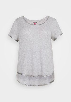 SCOOP TEE - Basic T-shirt - silver