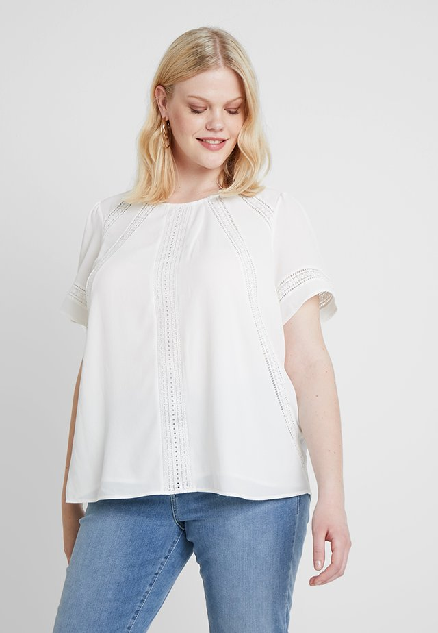 BLOUSE - Blus - pearl ivory