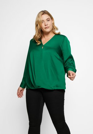 WRAP FRONT HAMMER - Blouse - everglade
