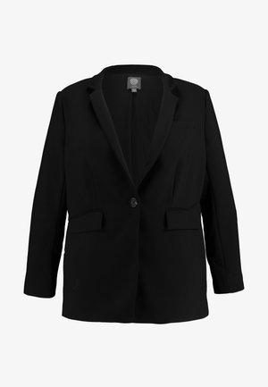 STAND COLLAR  - Blazer - rich black