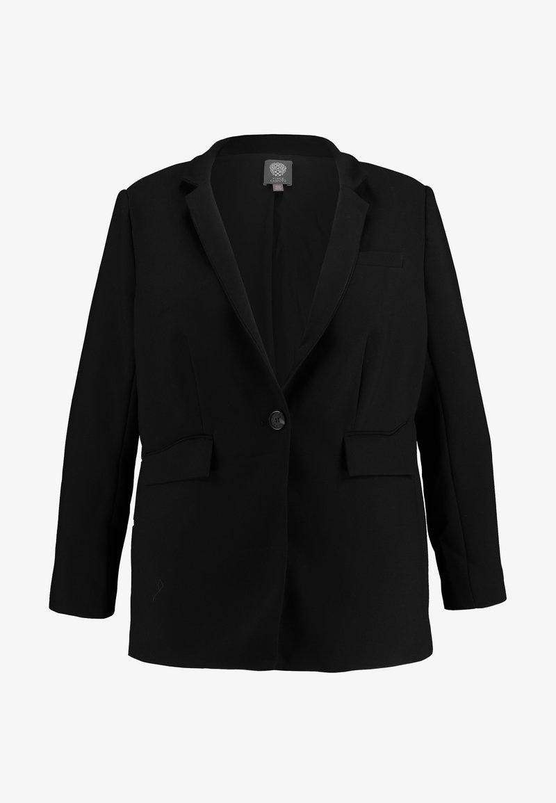 Vince Camuto Plus STAND COLLAR  - Blazer - rich black
