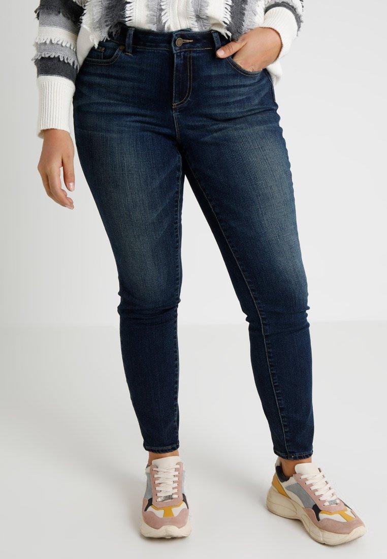 Vince Camuto Plus - Jeans Skinny Fit -  dark blue