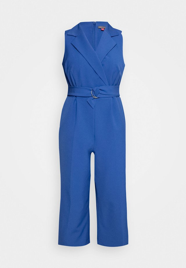 BELTED - Overall / Jumpsuit /Buksedragter - blue