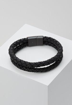 DUBBEL - Náramek - matte black