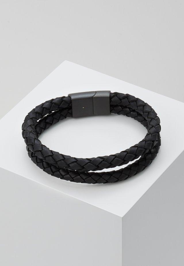 DUBBEL - Armband - matte black