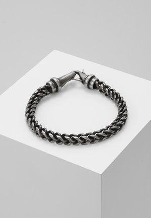 KUSARI - Náramek - antiqued steel