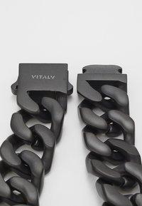 Vitaly - INTEGER - Armband - matte black - 6