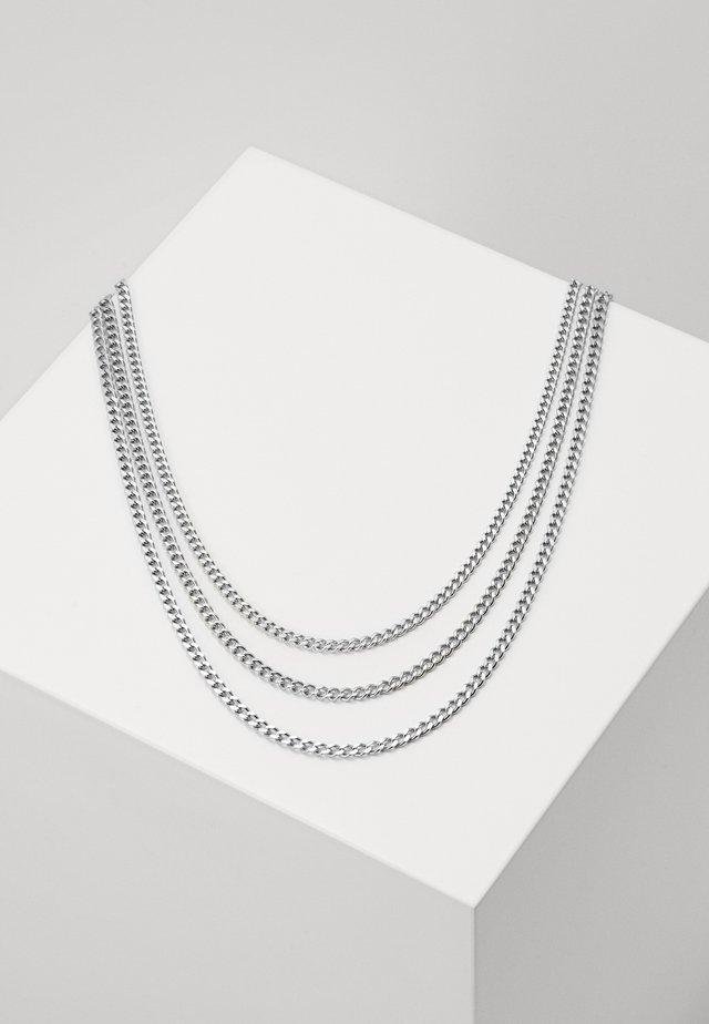 MIAMI SET - Halskette - silver-coloured