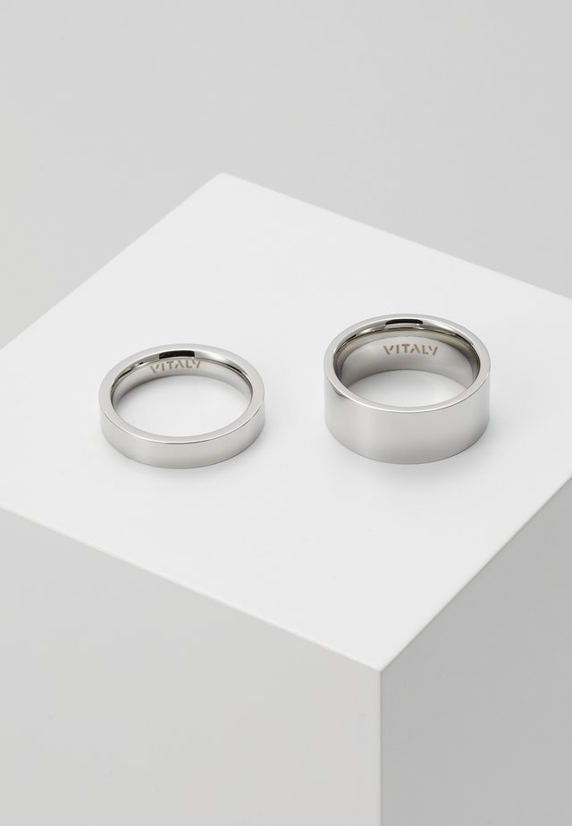 GRIP SET - Ring - silver-coloured