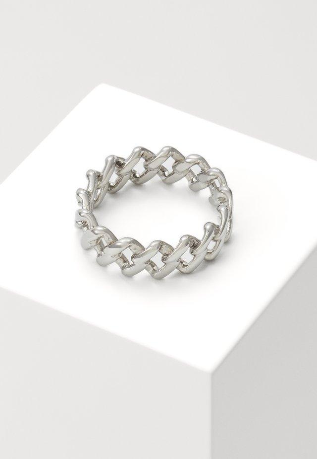 TILT UNISEX - Ring - silver-coloured