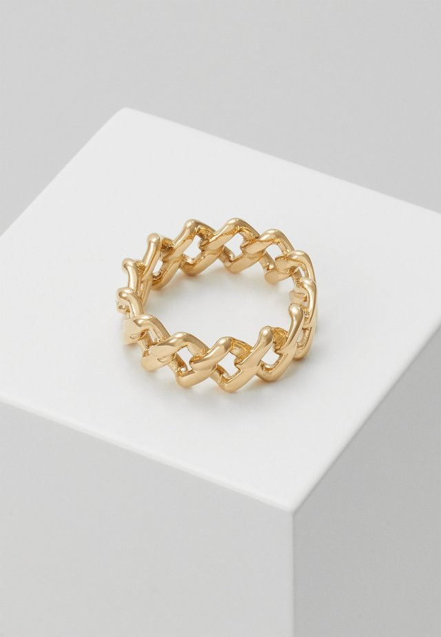 TILT UNISEX - Ring - gold-coloured