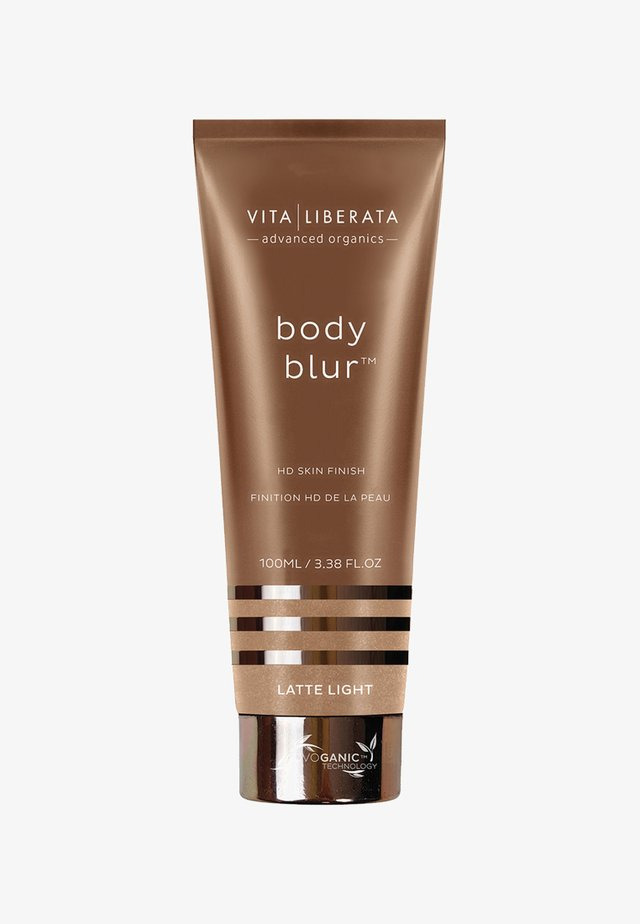 BODY BLUR INSTANT HD SKIN FINISH - Selbstbräuner - latte light