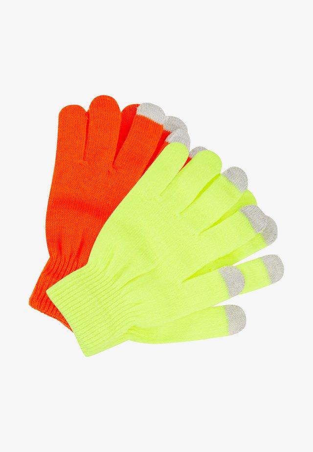 TOUCHSCREEN GLOVES - Gloves - neon multi