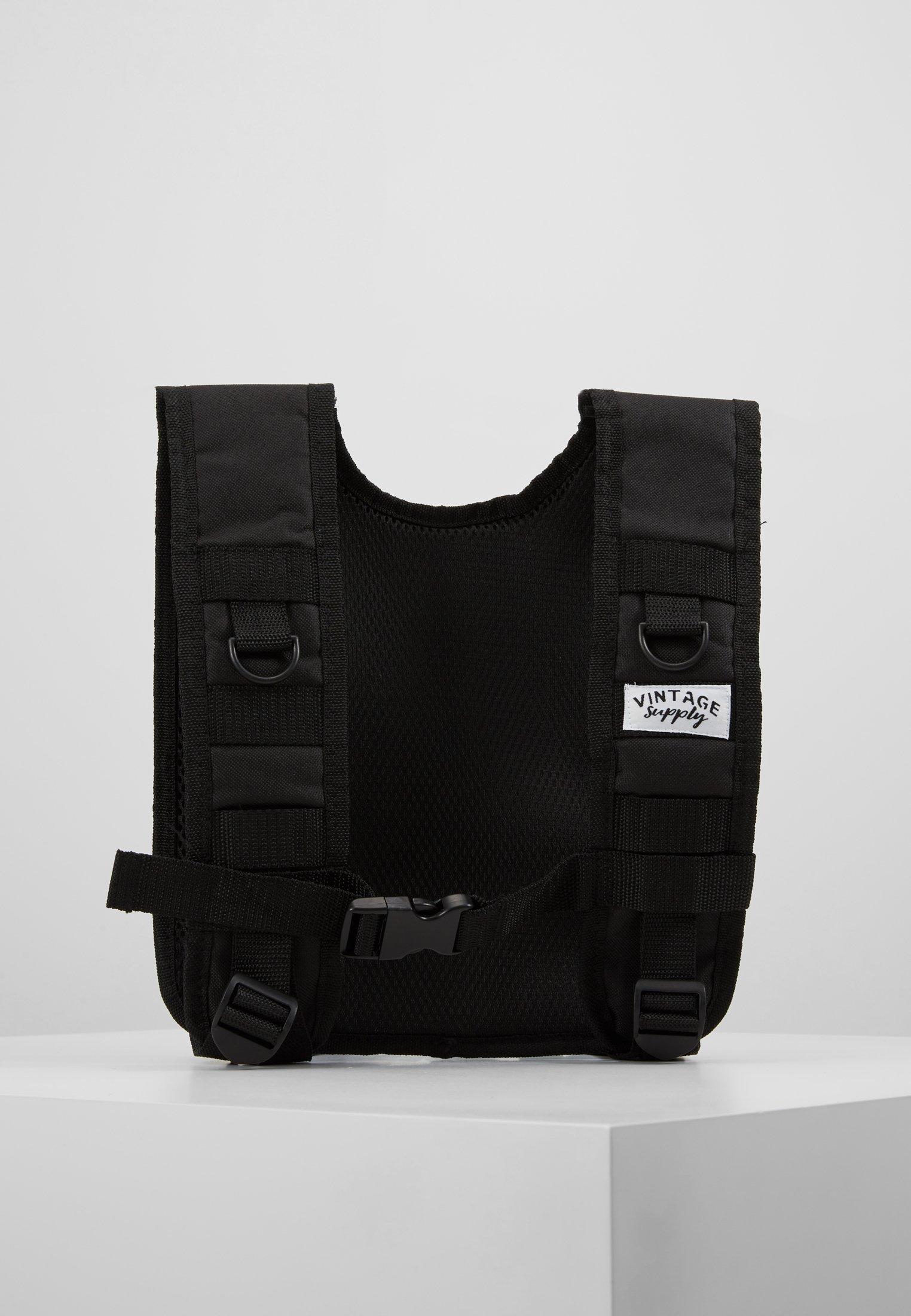 Utility VestVeste Black Vintage Sans Supply Manches wOy0vnmN8