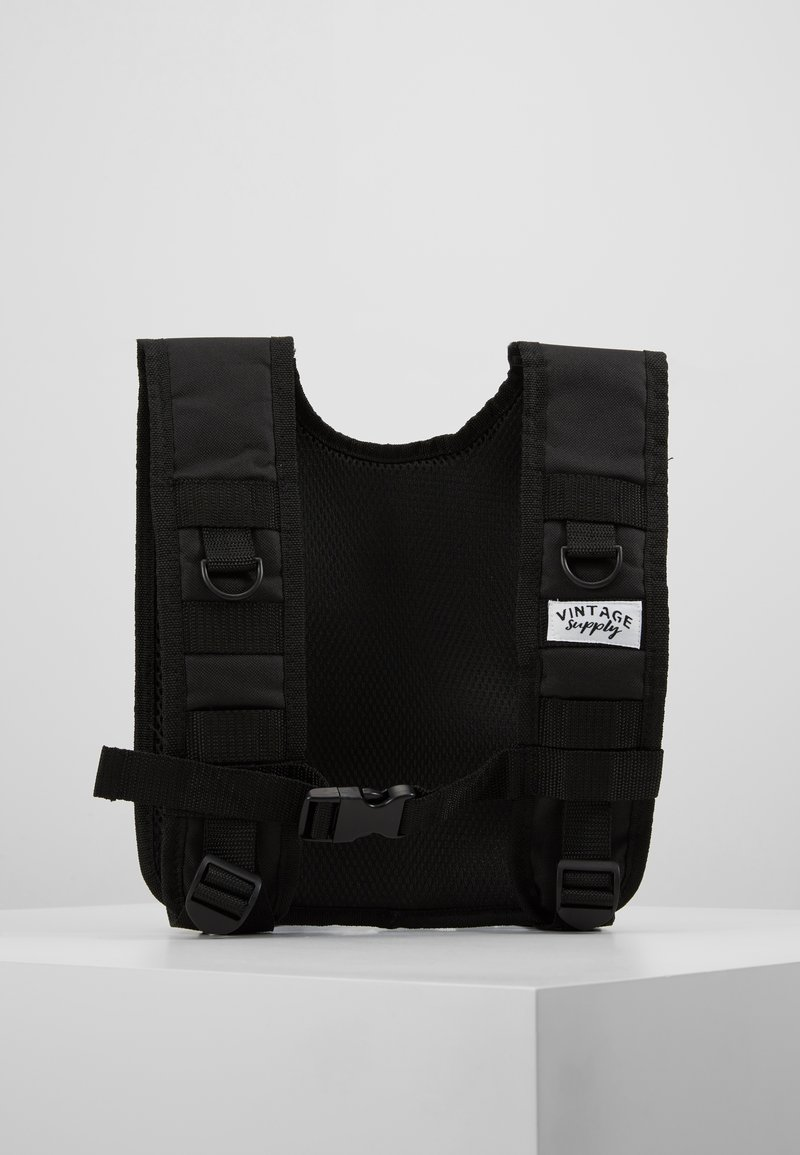 Vintage Supply  - UTILITY VEST - Kamizelka - black